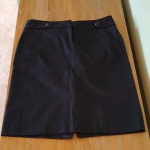 J. Crew Navy Pencil Skirt
